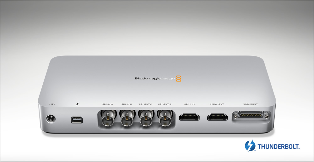 blackmagic design ultrastudio 3d cinegear