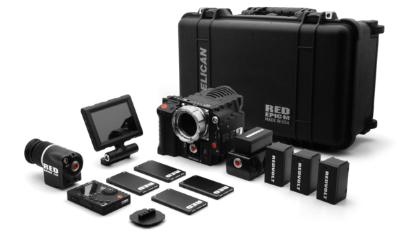 RED EPIC-M Pack