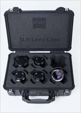 NAB 2011: Zeiss cinema lens set in a custom made case