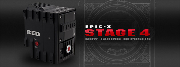 RED EPIC-X Stage 4 Preorder Deposit