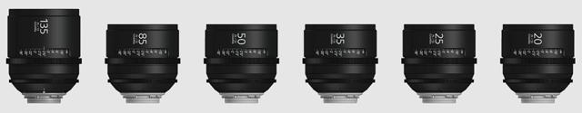 Sony PL lenses